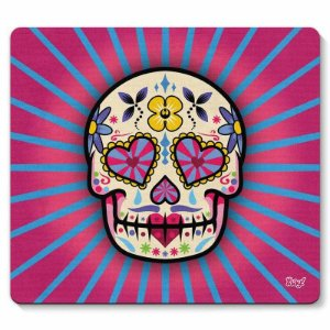 Mousepad Caveira Mexicana Dia de Los Muertos