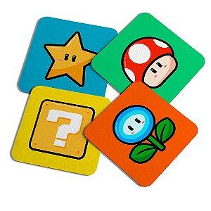 Porta copos - Icons Super Mario