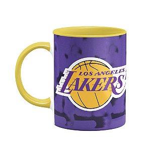 Caneca Basquete Lakers Los Angeles - B-yellow (Saldo)