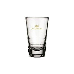 Copo dose Caninha 100 ml. de vidro personalizado - Cód.: 0303380LQ