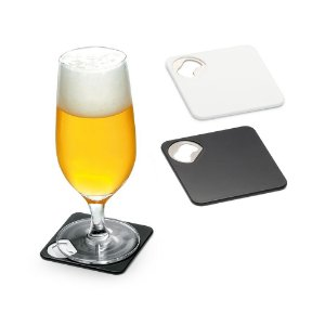 Porta copos com abridor personalizado - Cód.: 94116SQ
