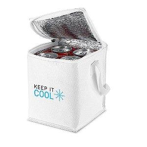 Bolsa térmica 4 litros em nylon personalizada - Cód.: 98411SQ