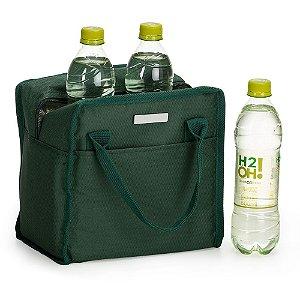 Bolsa térmica 7 litros em nylon personalizada - Cód.: 1329XQ