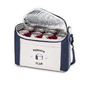 Bolsa térmica 8 litros em nylon personalizada - Cód.: 98414SQ