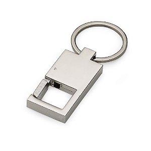 Chaveiro modelo mosquetão quadrado personalizado - Cód.: 12191XQ