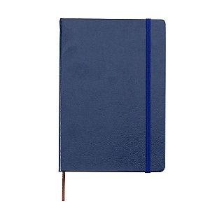 Caderneta tipo moleskine sem pauta personalizada - Cód.: 03005XQ