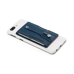 Porta cartão de crédito para celular em couro sintético - Cód.: 93331SQ