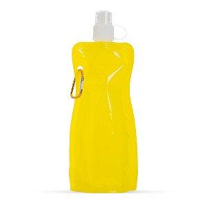 Squeeze plástico dobrável 480 ml personalizado - Cód.: 12459XQ