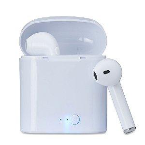 Fone de ouvido Bluetooth com case carregador - Cód.: 14199XQ