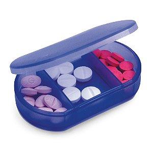 Porta comprimidos personalizado 3 divisórias – Cód.: 94301SQ