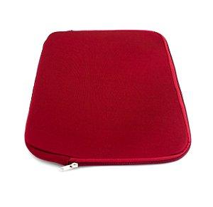 Capa  Luva Para Notebook Vermelha tamanho 15.6
