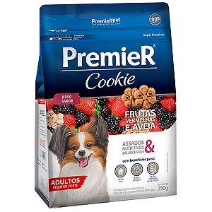Biscoito Premier Pet Cookie Frutas Vermelhas e Aveia para Cães Adultos