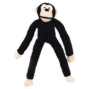 Brinquedo Jambo Mordedor Pelúcia Macaco Kelev