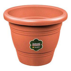 Vaso Plástico Redondo para Mudas 800 ml ø 13cm Sanremo