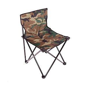 Cadeira Dobravél Araguaia Camuflado para Camping Belfix