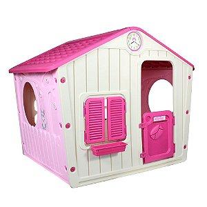 Casinha de Brinquedo Rosa Belfix
