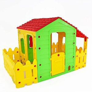 Casinha Fazenda de Brinquedo com Varanda Belfix