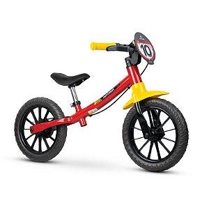 "Bicicleta Infantil Equilíbrio Balance Bike Fast Aro 12"" Nathor"