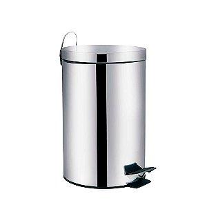 Lixeira Aço Inox 3 litros Ágata Mor