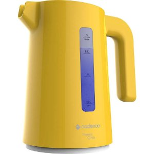 Chaleira Elétrica Thermo One Colors Amarela 1,7 litros 127V Cadence