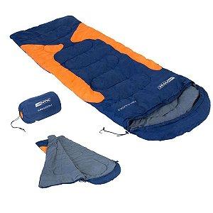 Saco de Dormir Freedom Azul e Laranja -1,5°c a -3,5°c Nautika
