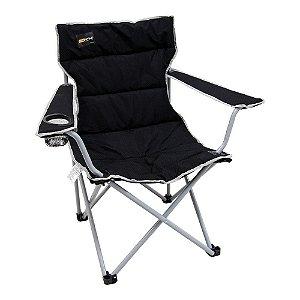 Cadeira Camping Dobrável Boni Preto Nautika