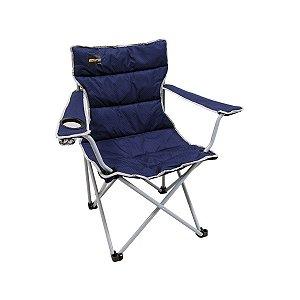 Cadeira Camping Dobrável Boni Azul Nautika