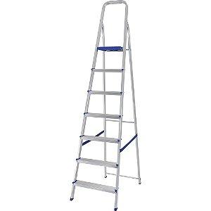 Escada Alumínio 7 Degraus Mor