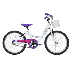 Bicicleta Infantil Ceci Branco Aro 20 Com Cesta Caloi