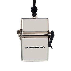 Porta Objetos Retangular Preto Fumê M Guepardo