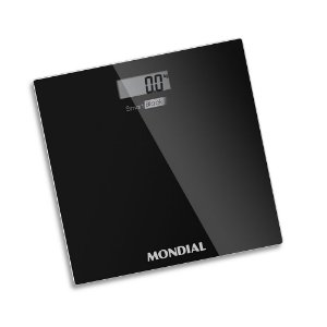 Balança Digital Smart Black 150kg Mondial