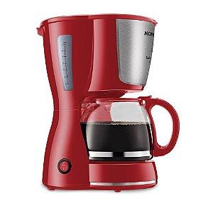 Cafeteira Elétrica Dolce Arome Inox 18 Xícaras Vermelho Mondial