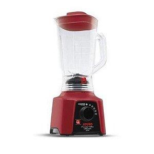 Liquidificador Power Mix LQ30 127V Vermelho Arno