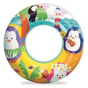 Boia Circular Pinguim Bestway