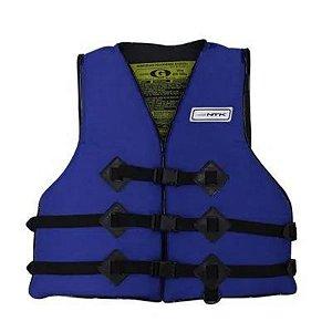 Colete Salva Vidas Homologado 55 kg até 110 kg Azul Nautika