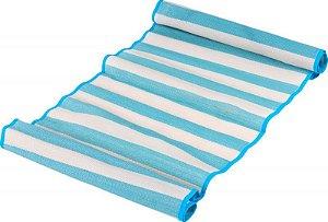 Esteira de praia com alça 86 x 180 cm Azul  Belfix