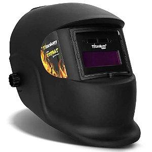 Máscara de Solda Automática Fixa Tonalidade 11 Combat 5496 Titanium