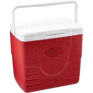 Caixa Térmica 15,1 litros Vermelha 16QT Coleman
