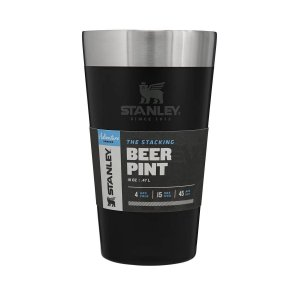 Copo Térmico de Cerveja Sem Tampa Preto Matte Black 473ml Stanley
