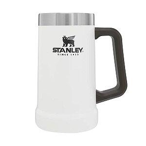 Caneca Térmica de Cerveja Pollar Branco 709ml Stanley