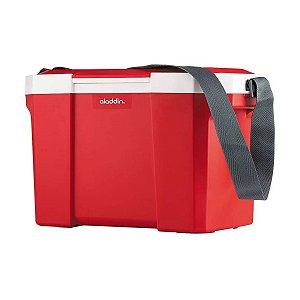 Caixa Térmica com Alça Vermelha 24 litros Aladdin