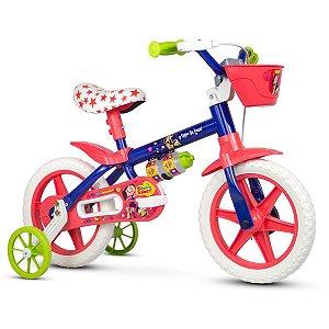 """Bicicleta Infantil Aro 12"""" Show da luna Nathor"""