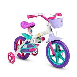 """Bicicleta Infantil Aro 12""""  Cecizinha Nathor"""