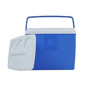 Caixa Térmica 18 litros Azul Belfix