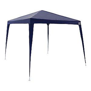 Tenda Gazebo em Poliéster Azul 3x3 Desmontável metros Belfix