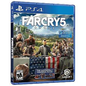 Jogo Far Cry 5 - Edição Limitada - PS4