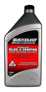 Óleo Quicksilver TC-W3 Premium 2t - 1 Litro