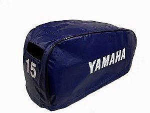 Capa de Capô Motor de Popa Yamaha 15 Hp Fmhs Após 97