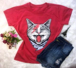 T-Shirt Gato