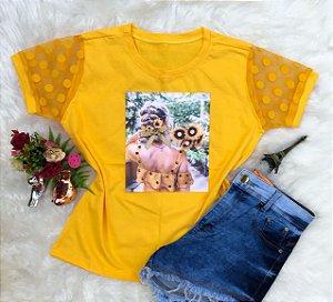 Tshirt Girassol amarelo